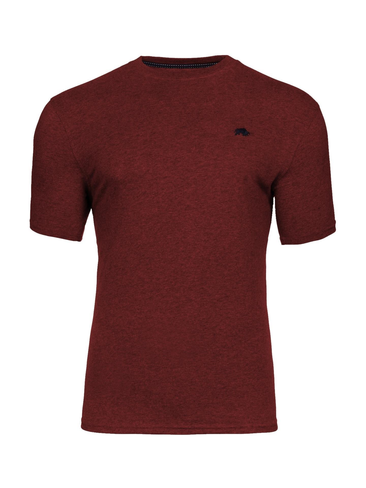 signature crew neck t-shirt (claret)