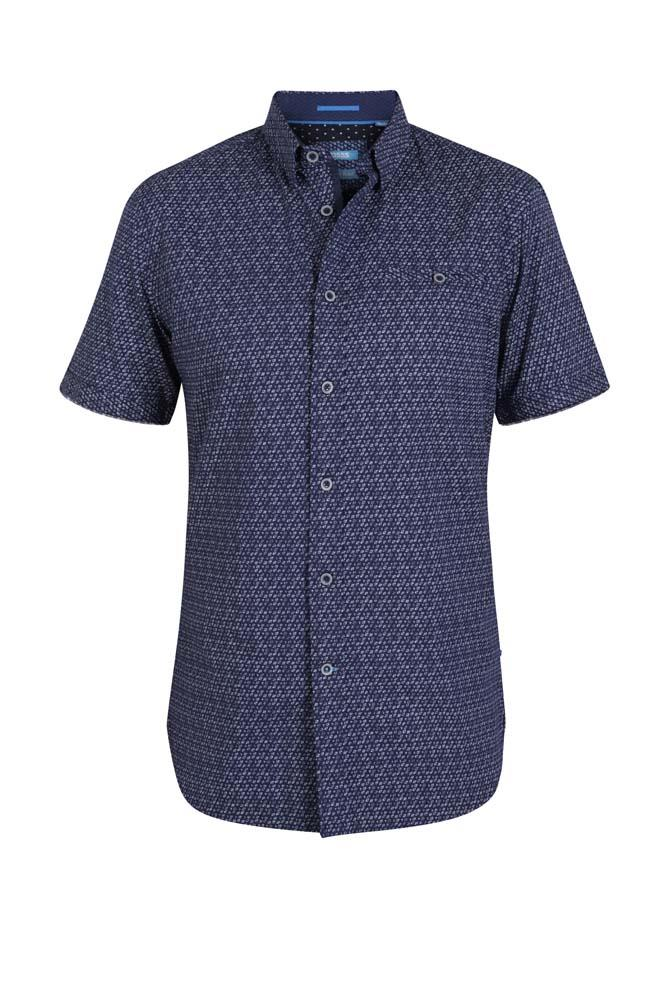 barlow short sleeve shirt (navy)