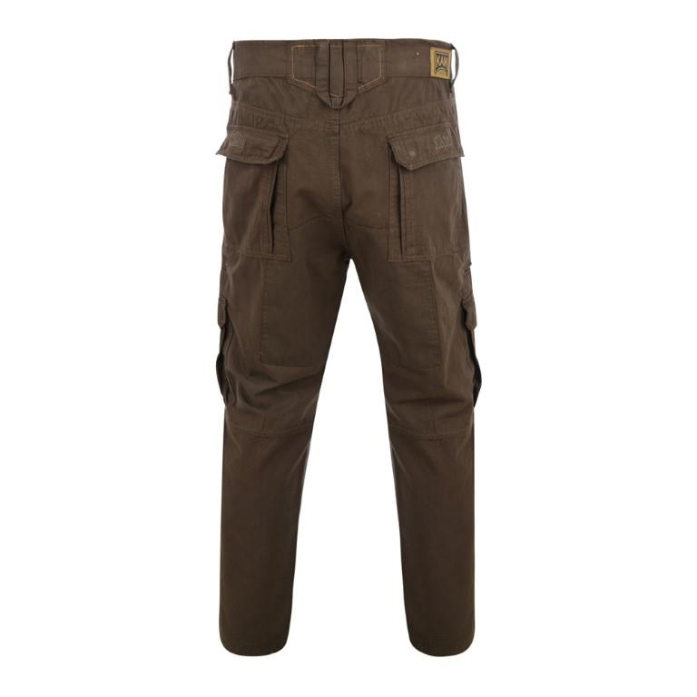 relaxed fit cargo trousers (khaki)