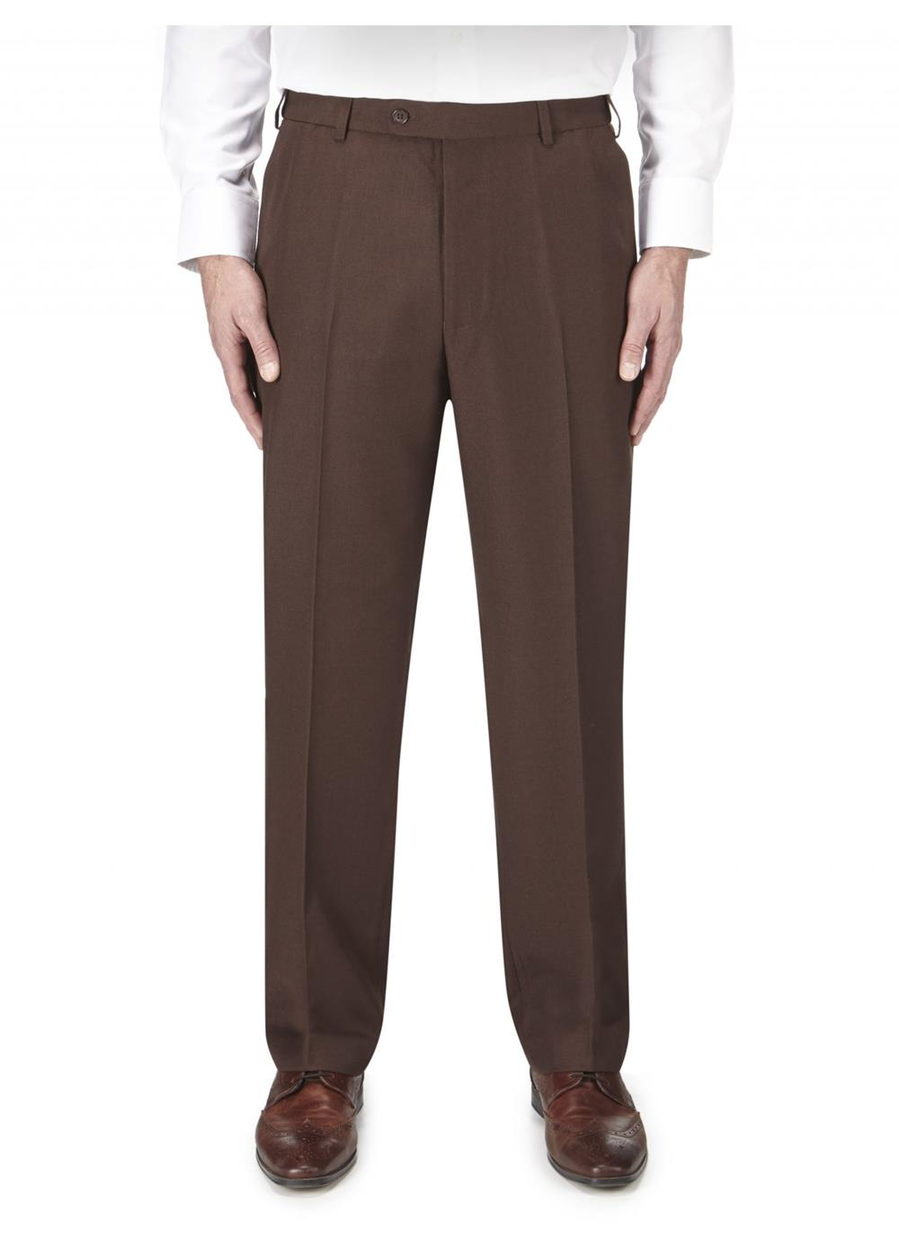 wexford formal trouser (chocolate)